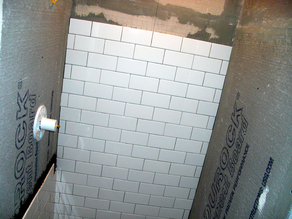 Seattle tile shower | Always start with the back wall... | gemteck1 ...