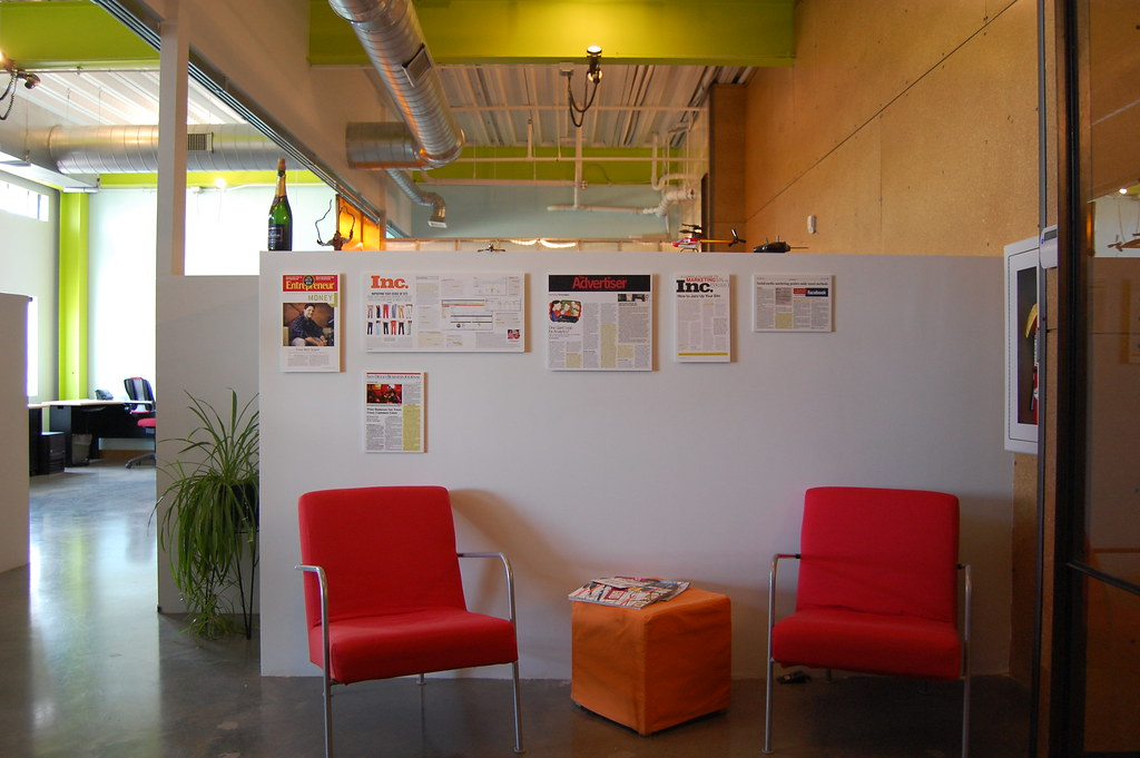 Wonderful ... Denver Office   Front Seating Area | By Red Door Interactive