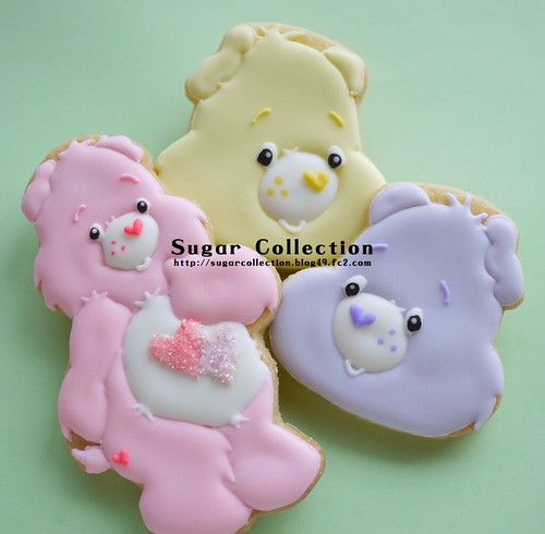 care bear cookies | by JILL's Sugar Collection