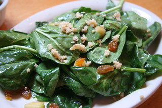 Phlight Restaurant, Whittier, CA - Warm Spinach Salad | by Food Librarian
