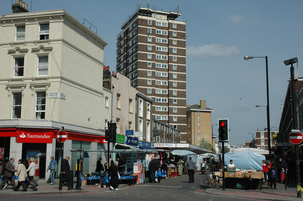 Church Street Market NW8 | Church Street Market NW8, with ...