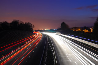 M4 Traffic, Cardiff, Wales | by cpsylvester