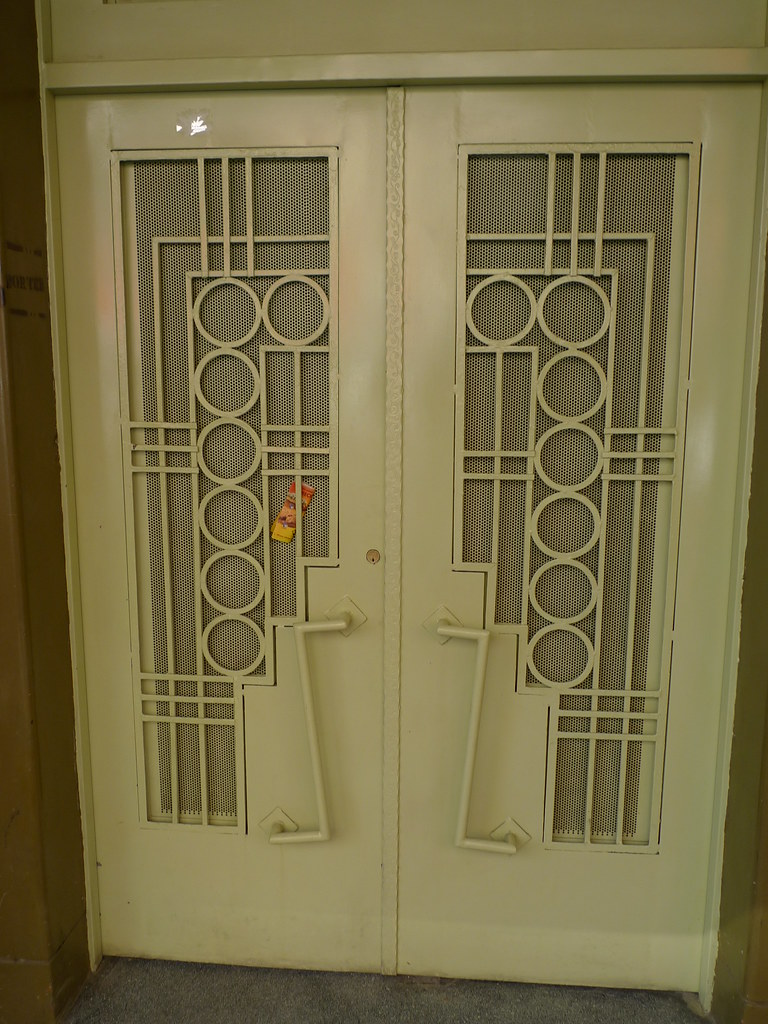 ... Art Deco Door In Roma | By Pov_steve