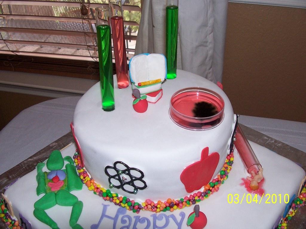 Tqs Geeky Science Teacher Cake Karen Fair Flickr