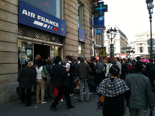 Air France mob scene | by David Lebovitz