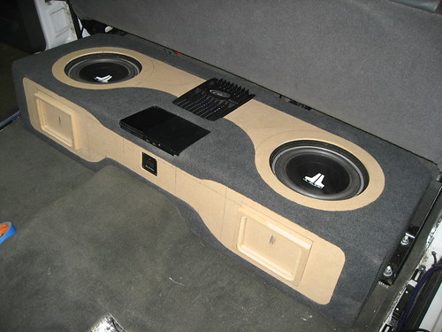 Custom Ported Sub Box 8 2005 Gmc Sierra Pickup Custom