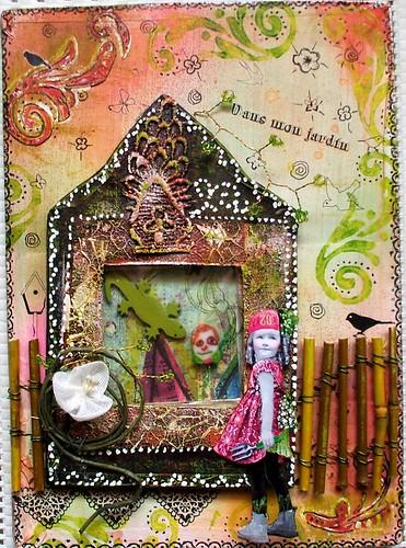 Dans mon jardin d tails dans mon blog uni vert de fan de for Mon jardin 3d