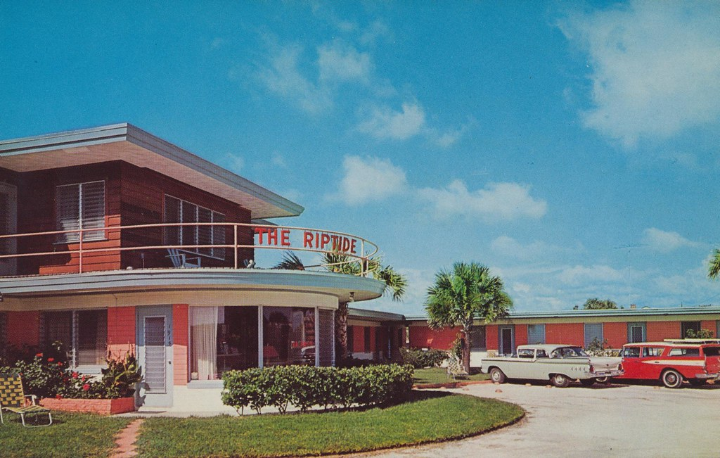 Riptide Motel - Daytona Beach, Florida
