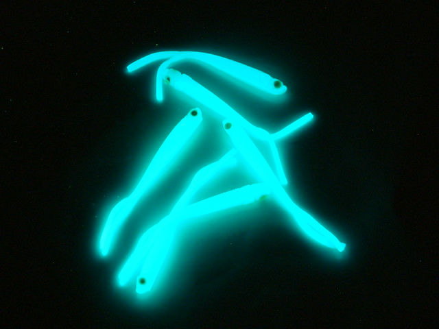 glow in the dark fishing lures these glowing fishing