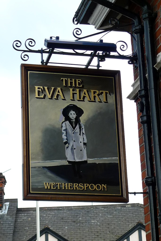 Eva Hart, Chadwell Heath, RM6   A mournful, sad looking girl ...