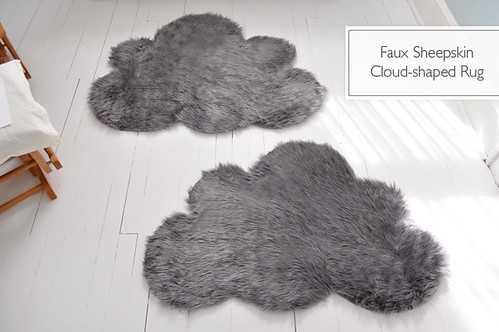 DIY faux sheepskin rug | by Lifeflix