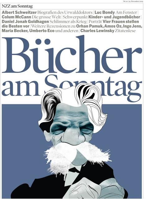 Albert Schweitzer Published In Nzz Am Sonntag Zurich Swi Flickr