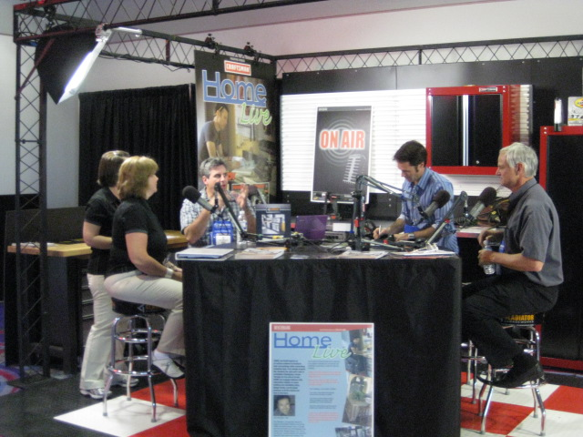 Talking With HomeLive at National Hardware Show in Las Veg