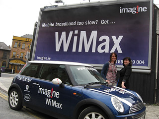 Mobile Broadband too slow? Get WiMax! | by imagineWiMax
