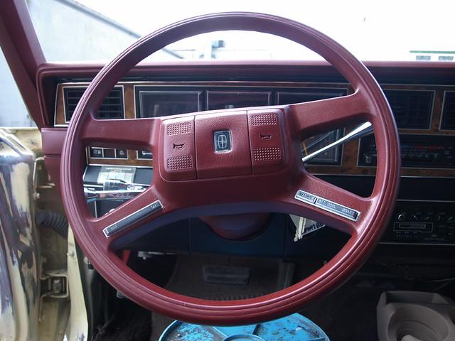 1985 Lincoln Town Car Custom Interior Precision Restorations