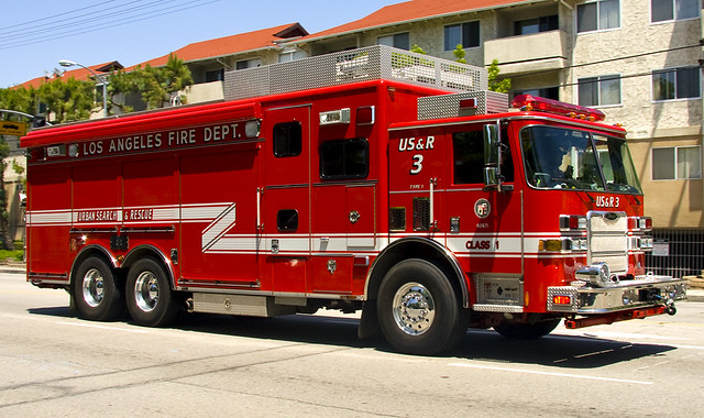 Los Angeles Fire Department Urban Search And Rescue 3