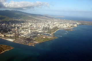 Oahu: Taking off from HNL - Waikiki | by wallyg