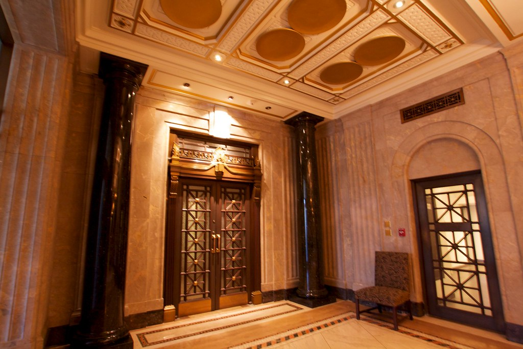 Ornate Door In The Canada Life Building Interior Shot Of T Flickr