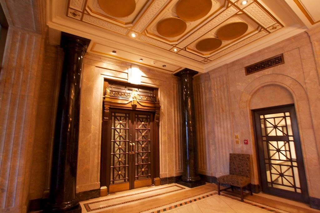 ... Ornate Door In The Canada Life Building | By Dan Cronin^