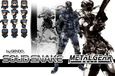 Mgs Solid Snake Rpg Maker Vx A Metal Gear Solid Or Mgs