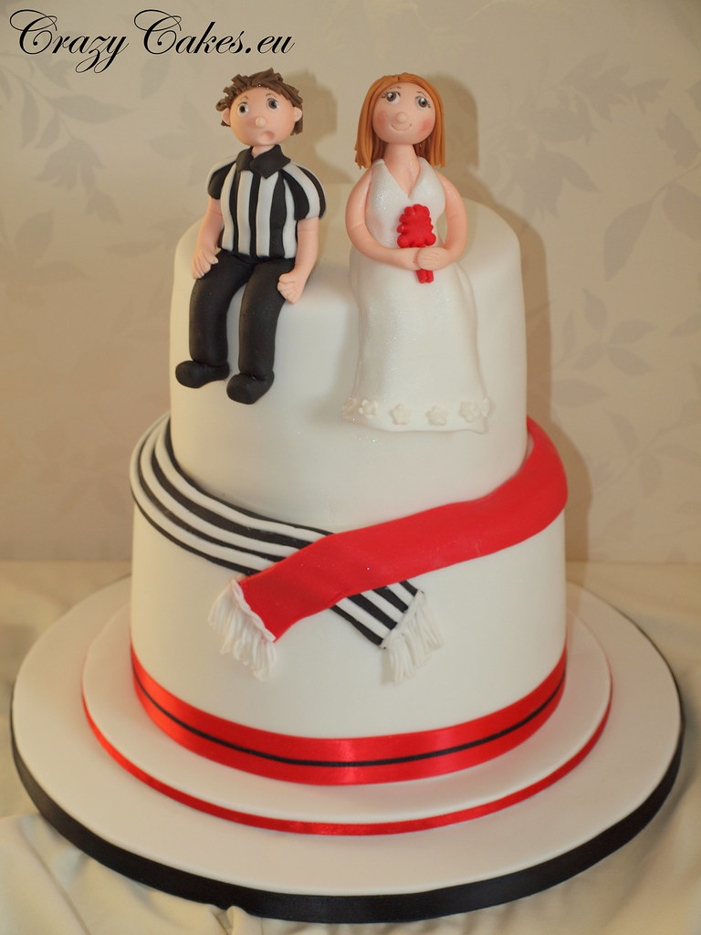 wedding cake nottingham football fans wedding cake this was for a football 23324