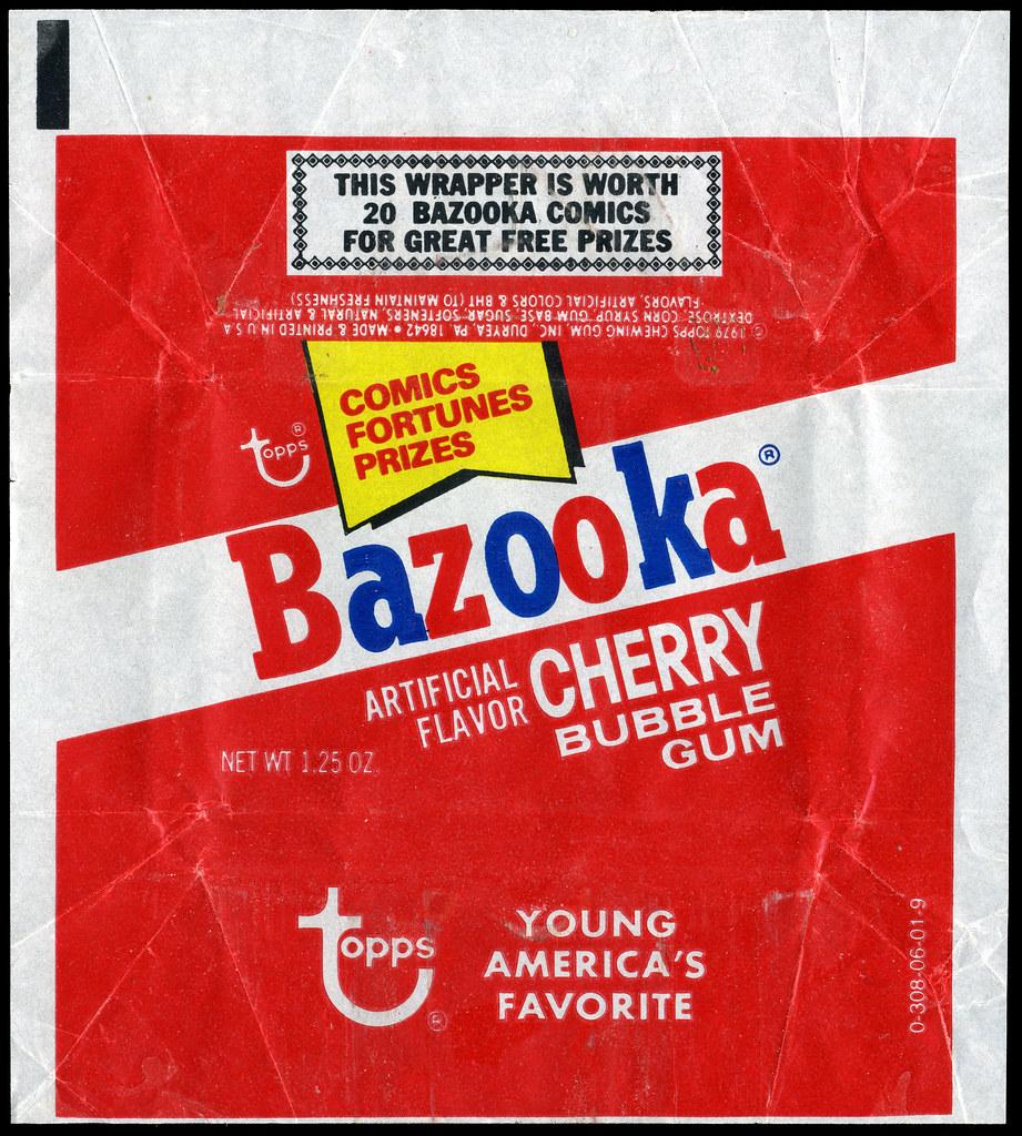 Bazooka (chewing gum) - Wikipedia