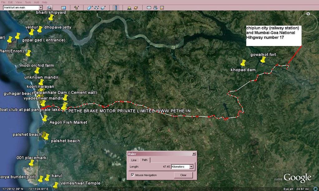Chiplun Guhagar Roadmap How To Reach Guhagar From