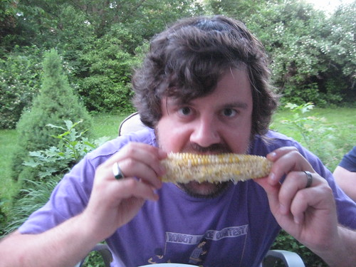 Glen has a funny thing about corn | by Brian Mckinney