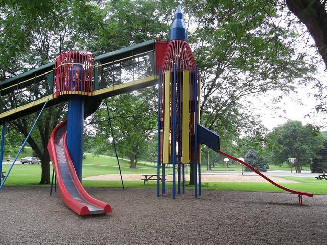 Rocket Slide Rocket Slide Park Astro City