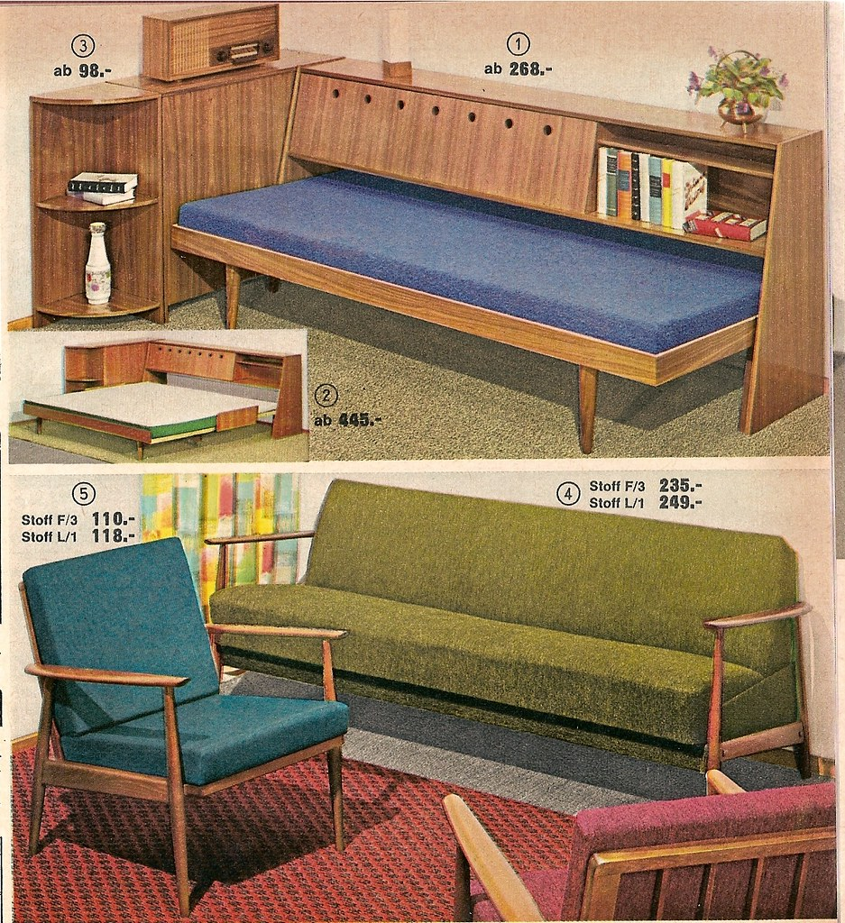 1963 quelle klappcouch diepuppenstubensammlerin flickr for Couch quelle