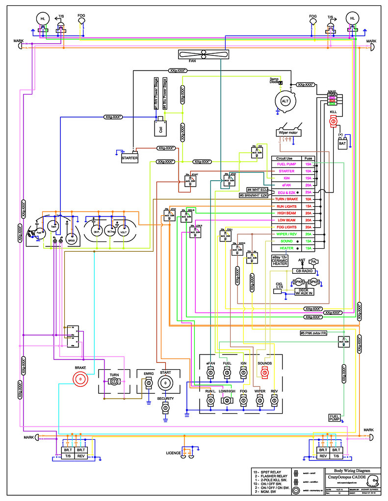 wiring diagram rev13 wiring diagram zach zupancic flickr