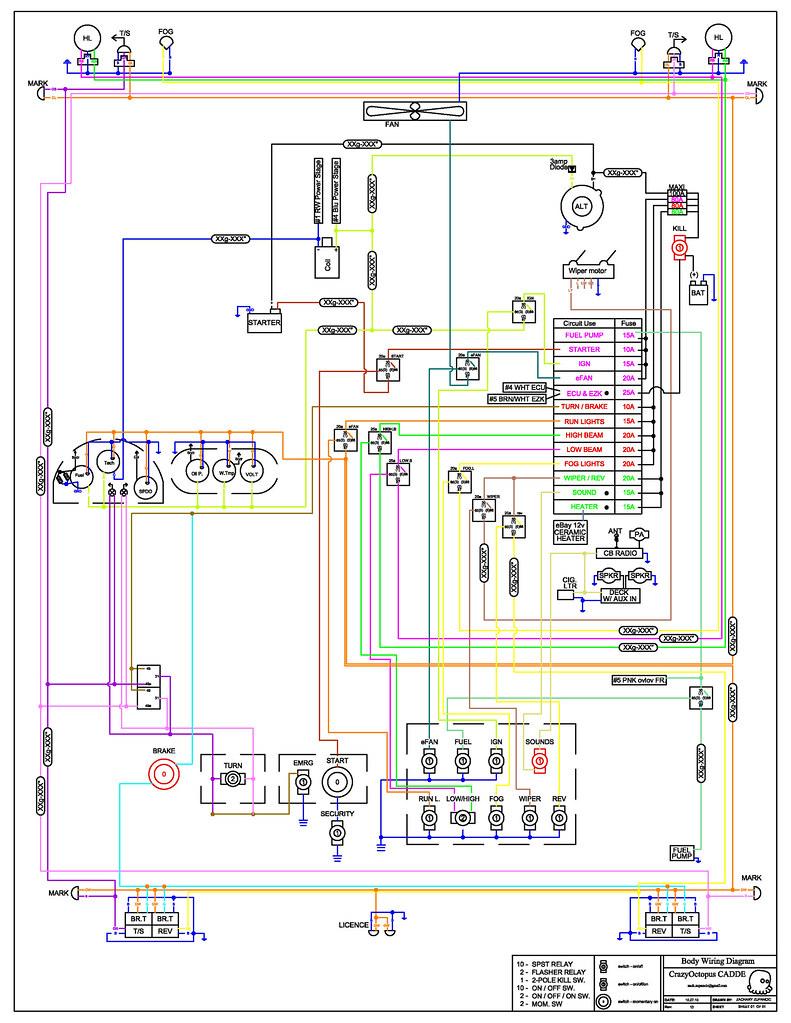 wiring diagram rev13 wiring diagram zach zupancic flickr. Black Bedroom Furniture Sets. Home Design Ideas
