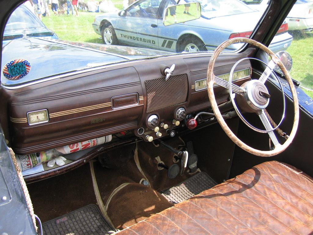 Ford V8 Pilot Dash Detail C1949 Dale Chappell Flickr