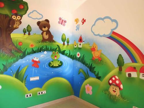 Dormitorio infantil tarragona pinchar en la imagen - Murales para habitaciones infantiles ...