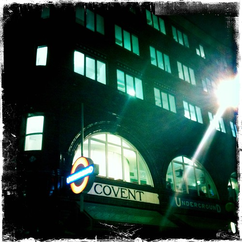 Outside Entrance to the Covent Garden Tube Stop | by mamamusings