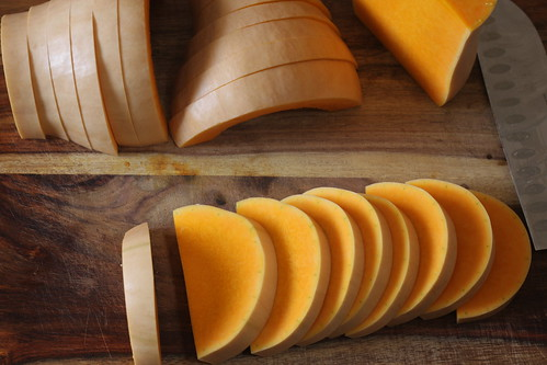sliced butternut squash | by Madison Bistro