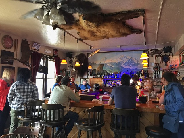 Interior del Fairview Inn (Talkeetna, Alaska)
