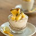 Coconut rice pudding with pineapple