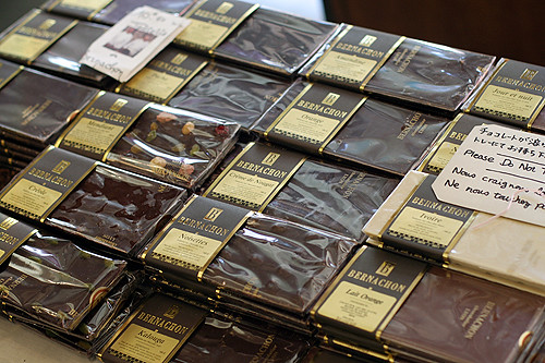 bernachon chocolate bars | by David Lebovitz