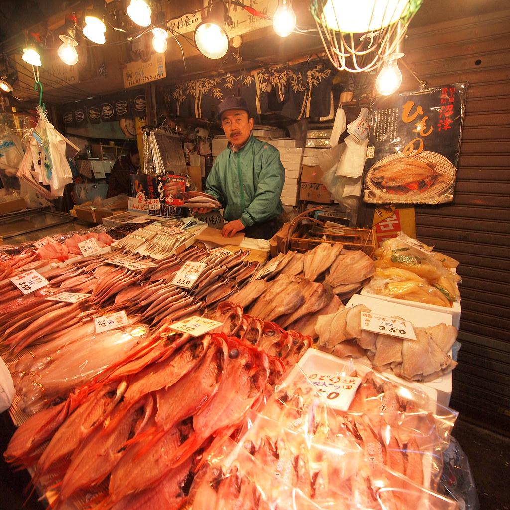 Tsuki Fish Market Vendor Drsirrambo Flickr