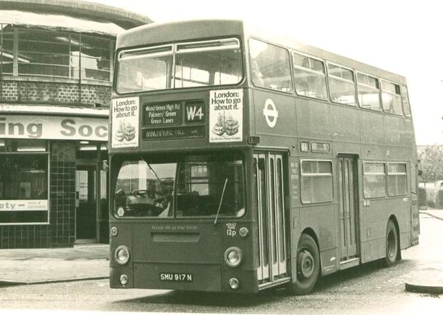 london transport dms917 tgx917m turnpike lane bus stat. Black Bedroom Furniture Sets. Home Design Ideas