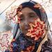 Veiled woman in Ibra, Oman