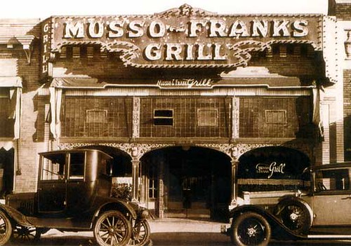 Musso frank grill in the early days of movies musso and flickr - Musso and frank grill hollywood ...