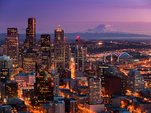 Seattle, from the Space Needle | by megascapes