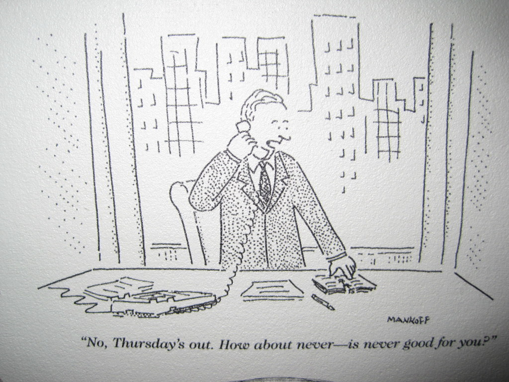 """My favorite New Yorker cartoon 