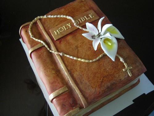 Bible Cake Topper