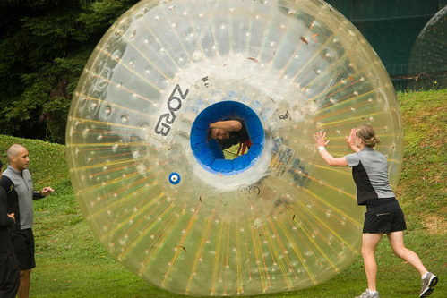 Sergio in a Zorb | by worldbeyond