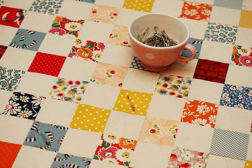 pinning for hand quilting | by penelope waits