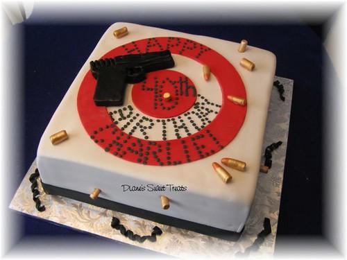 Bulls Birthday Cake