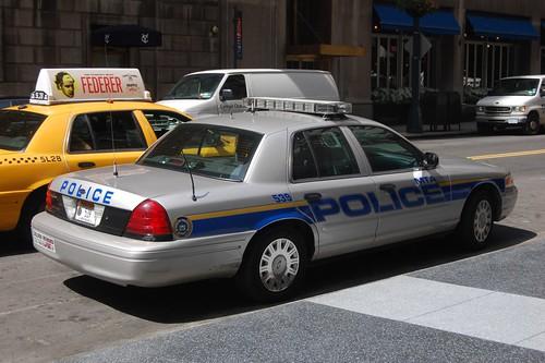 mta silver police back an mta silver police car flickr. Black Bedroom Furniture Sets. Home Design Ideas
